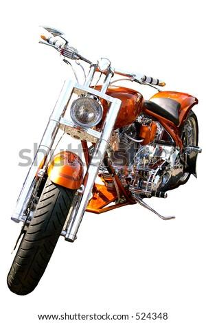 MOTOR BIKE - stock photo