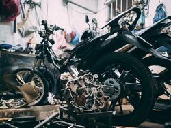 Motor Bike Engine box