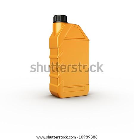 Motor oil bottle yellow plastic stock photo 10989388 for Motor oil plastic bottle manufacturer