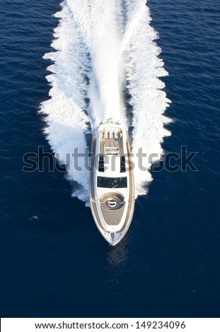 motor yacht boat