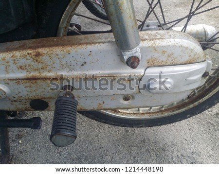 motorcycle foot rest #1214448190