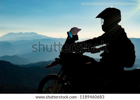 motorcycle riding therapy, find peace #1189460683