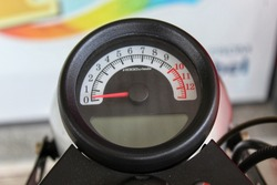 Motorcycle speed gauge  To show the running speed