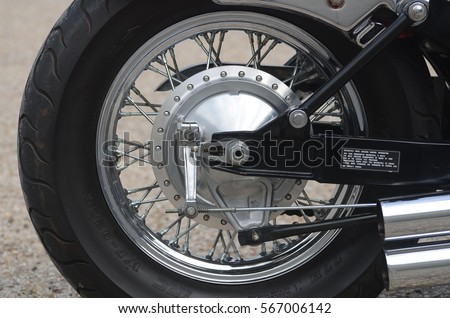 Motorcycle Wheel #567006142