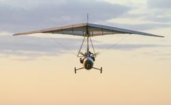 motorized hang-glider sky fly free