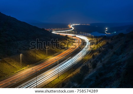 Motorway In England