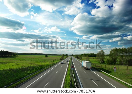 motorway in Germany