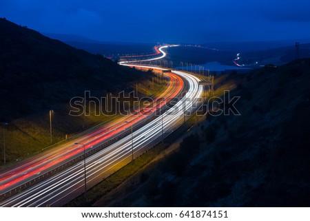 Motorway Miles #641874151