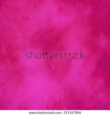 Mottled, hot pink background texture. Stock photo ©