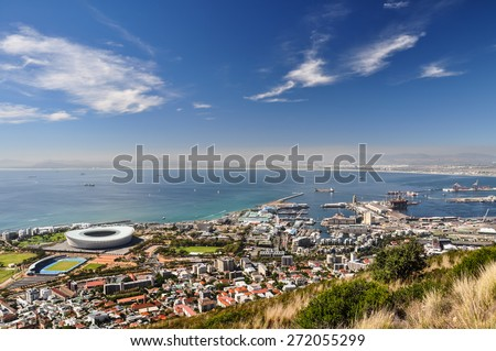 Mouille Point seen from Signal Hill - Cape Town #272055299
