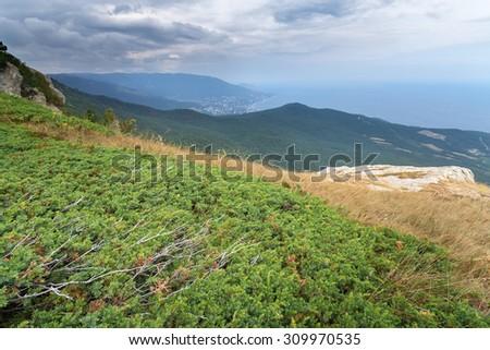 Mount Ai-Petri \ Mount Ai-Petri picture made with summer Crimea