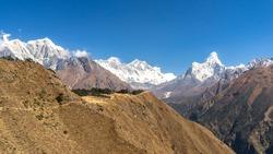 Mount Ama Dablam, Everest range mountains, Everest Base Camp trek, Himalayan peaks