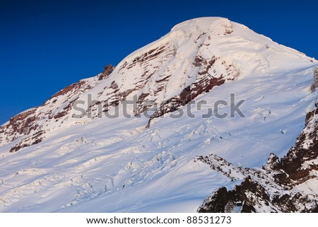 Mount Baker - stock photo