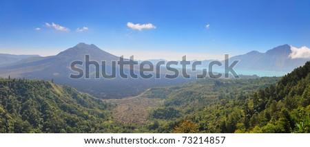 Mount Batur-One of the famous volcanos in Indonesia