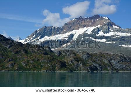 Mount Copper near Lambplugh Glacier, Glacier Bay National Park, Alaska