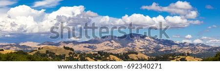 Mount Diablo Panorama Foto stock ©