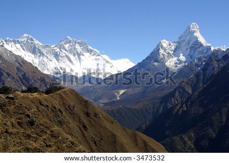 Mount Everest, Lothse, Ama Dablam - Khumbu, Nepal