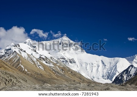 Mount Everest, North face