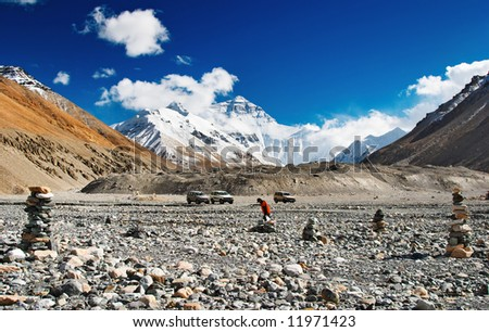 Mount Everest, North face, base camp