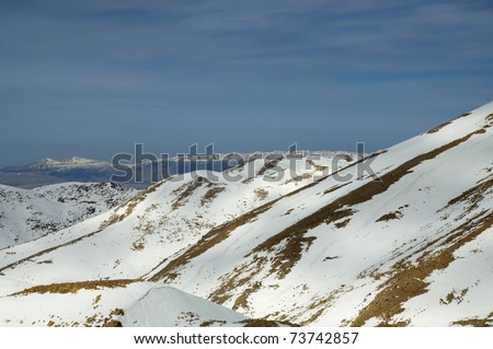 Mount Hermon and south Lebanon