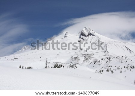 Mount Hood, Oregon - stock photo