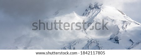 Photo of  Mount Hood, Oregon in the Cascade Mountains