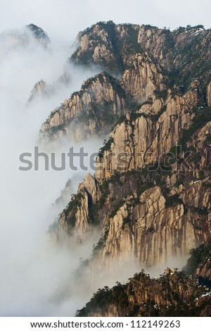 Mount Huang is one of the world's cultural heritages