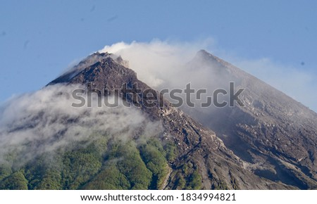 Mount merapi so great in Jogjakarta