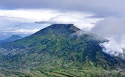 Mount Merbabu dormant stratovolcano in Central Java,Indonesia