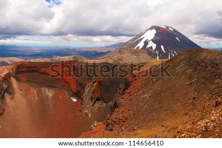Mount Ngauruhoe, Tongariro National Park New Zealand