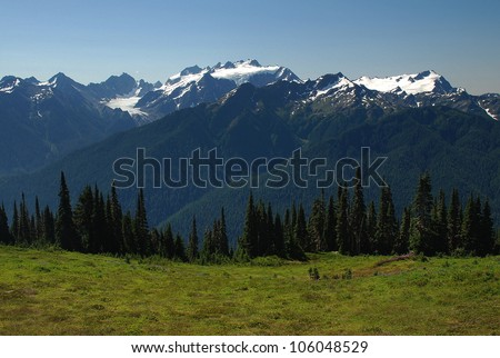 Mount Olympus, Olympic National Park, WA