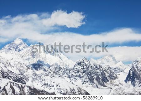 mount peak Everest