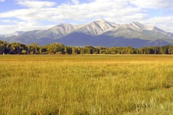 Mount Princeton, Collegiate Peaks in the Rocky Mountains, Colorado