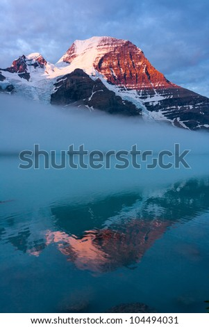 Mount Robson, the Highest Peak of Canadian Rockies