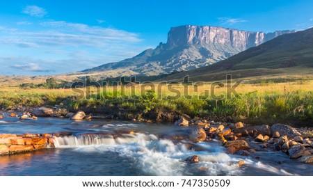 Mount Roraima, Venezuela, South America Stockfoto ©