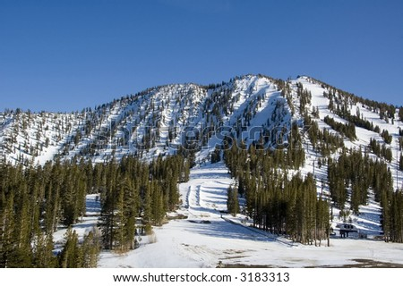 Mount Rose ski area, Nevada