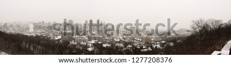 Mount Royal Winter #1277208376