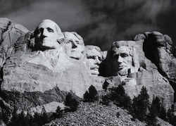 Mount Rushmore National Memorial, South Dakota, May, 2017