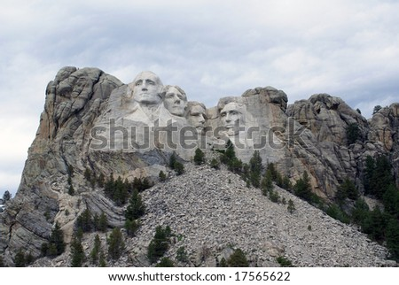 Mount Rushmore National Monument - stock photo