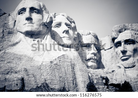 Mount Rushmore National Monument in South Dakota
