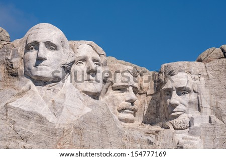 Mount Rushmore National Monument near Keystone, South Dakota