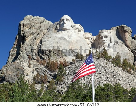 Mount Rushmore National Park Monument, South Dakota, U.S.A.