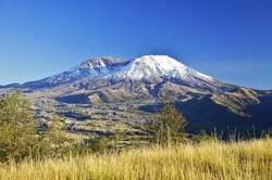Mount Saint Helens from the Hummocks trail