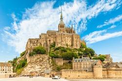 Mount saint Michael in Normandy, France