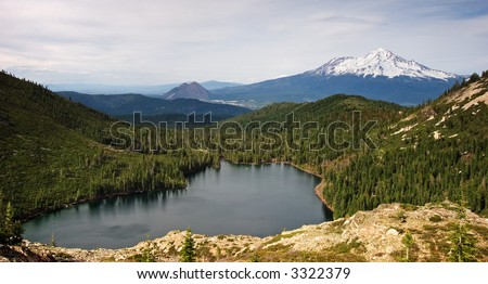 Mount Shasta, Black Butte & Castle Lake