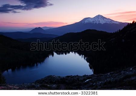 Mount Shasta, Black Butte & Castle Lake