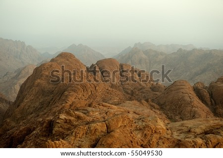 Mount Sinai in early morning