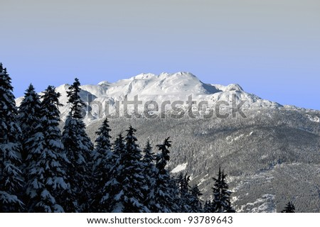 Mount Sproat in Coast Mountains #93789643