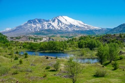 Mount St Helens from Below