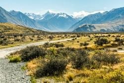 Mount Sunday, Edoras, Ashburton Lakes, New Zealand